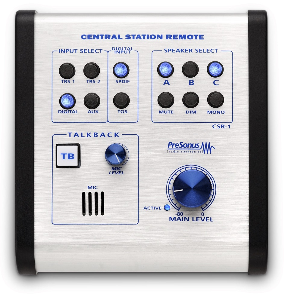 PreSonus Central Station PLUS Monitor Controller Remote