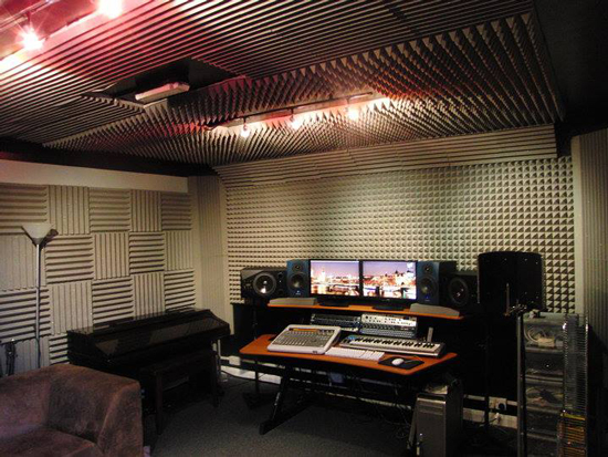Pro tools studio room acoustic treatment solutions - Bedroom studio acoustic treatment ...