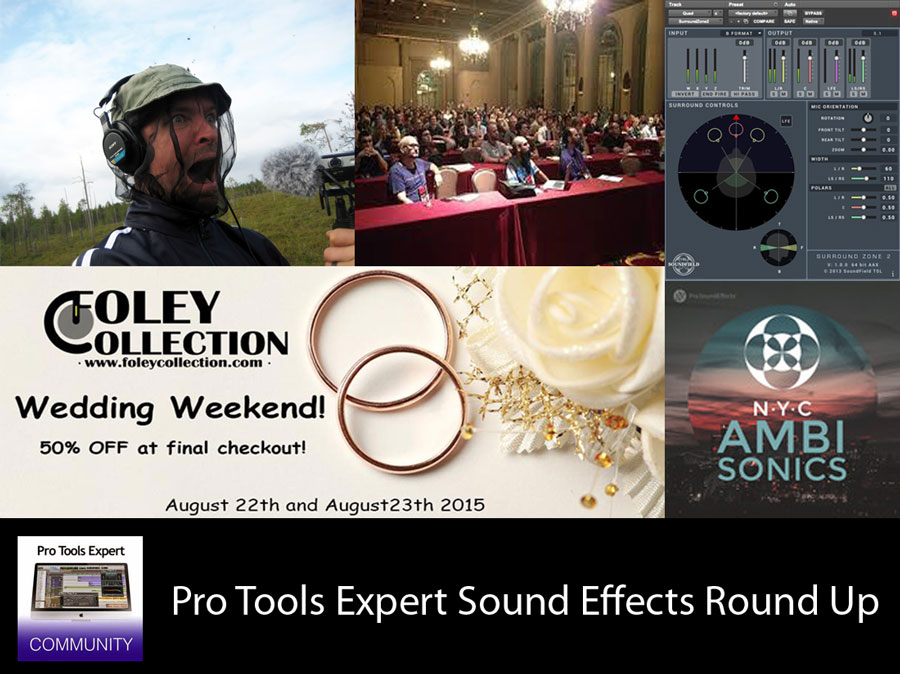 Sunday Sound Effects Roundup - ProSoundEffects, Foley