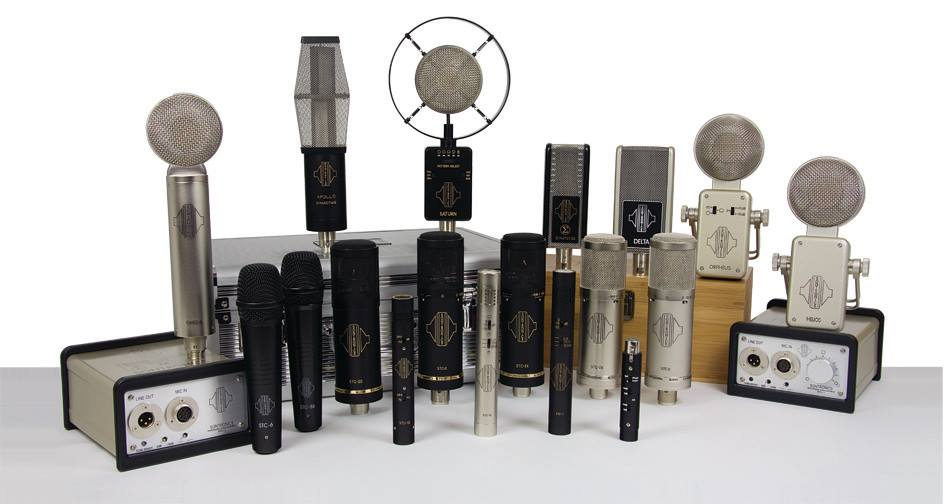 Just some of the Sontronics range of microphones.