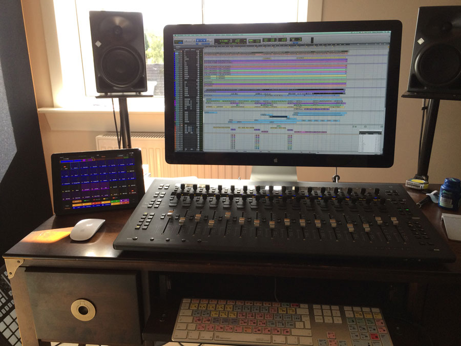 Producer stuart mccredie settles on an avid s3 pro tools for Small room 9 paging ground control