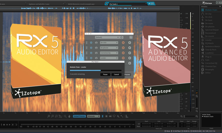 iZotope RX5 & RX Post Production Suite Are Here | Pro Tools