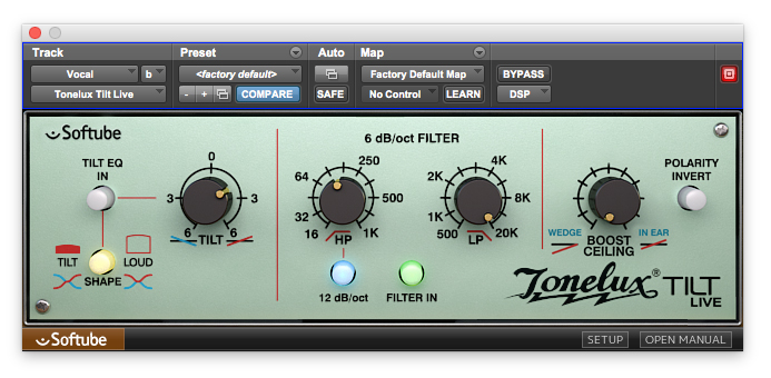 Tonelux Tilt Softube