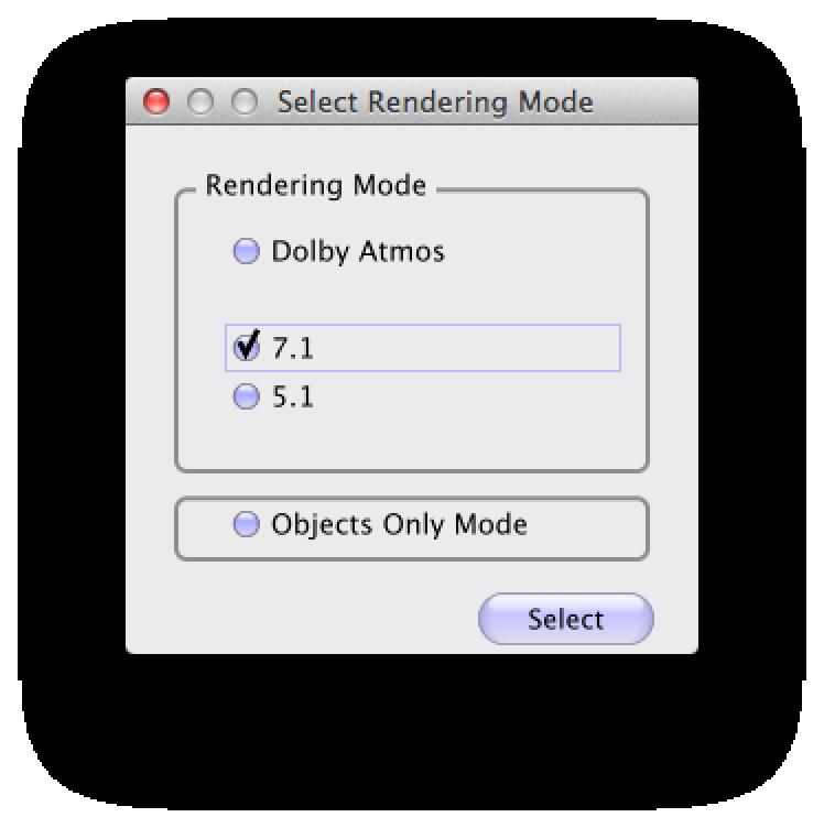 Atmos Downmix Monitor Modes