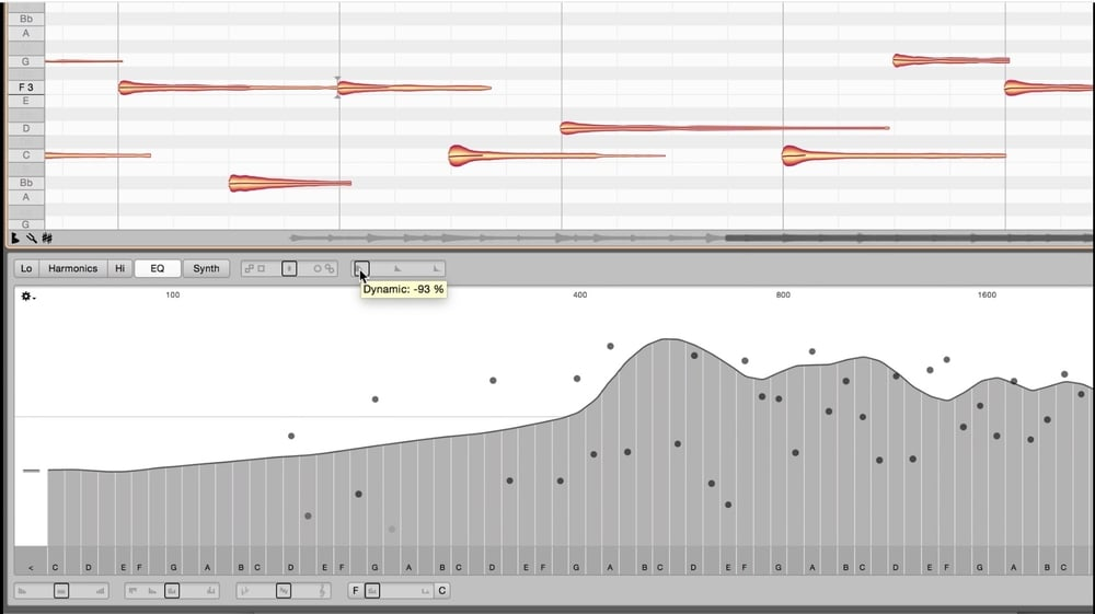 how to create harmonies in melodyne 4