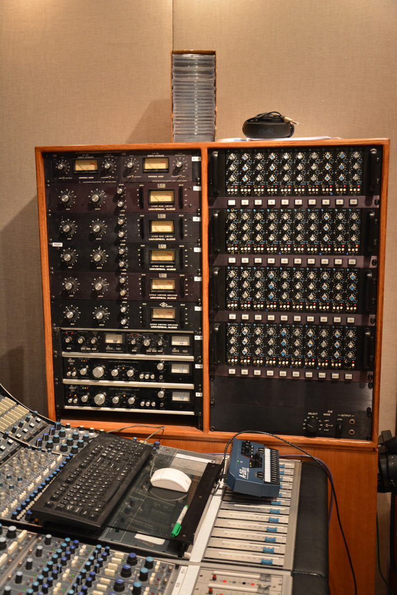 Rack 3 in the Studio B control room. API anyone?