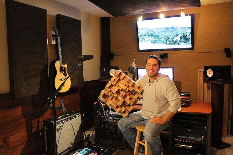 Mix mastered Acoustics owner Dan Morrell