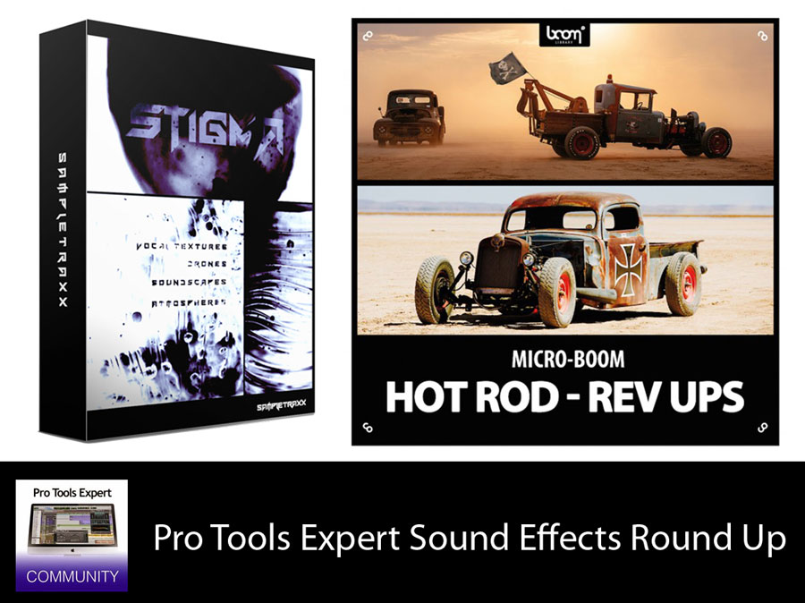 Pro Tools Expert Sound Effects Round Up