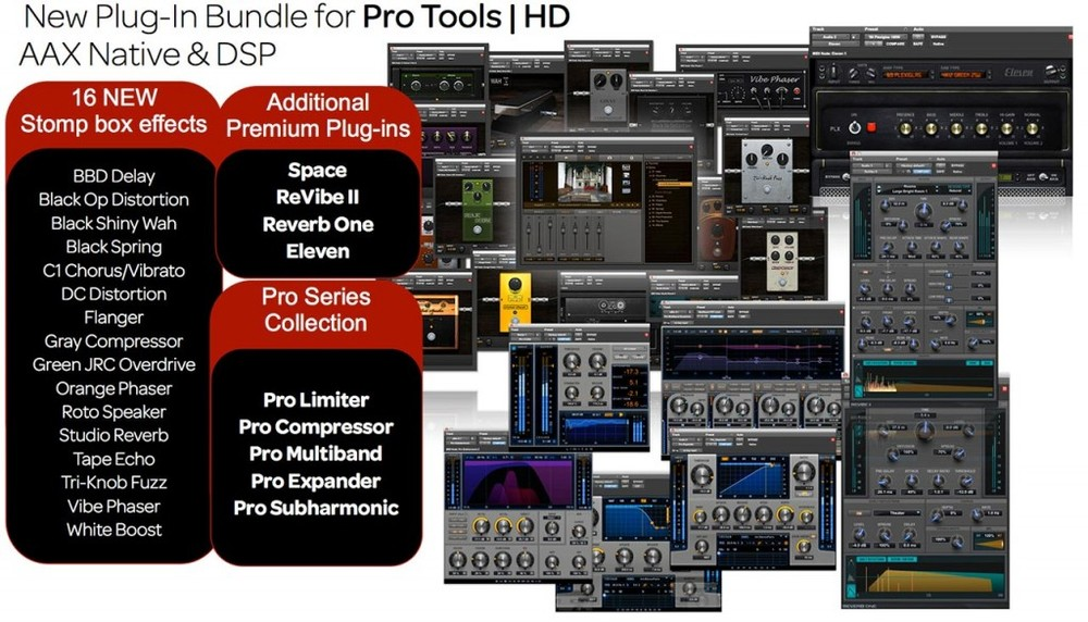 Pro Tools 12HD plug-in bundle