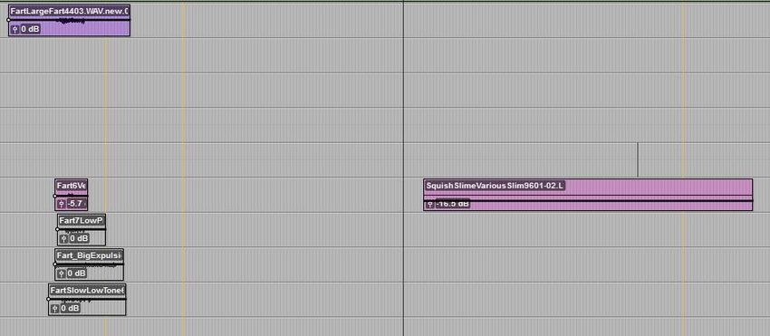 Pro Tools Foley Audio