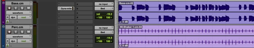 Pro Tools Track Commit