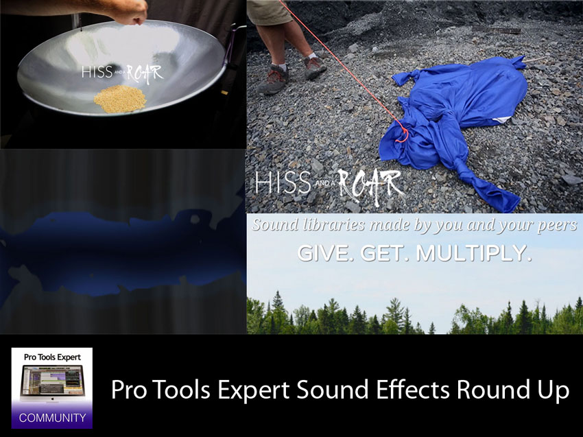 Sunday Sound Effects Round Up - Hiss And A Roar, Crowdsource SFX, Undertone