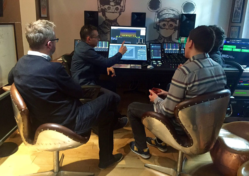 Jigsaw24 Present Pro Tools 'Mix With The Pros' with UK demo of D-Spatial