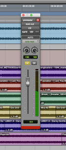 Floating Fader In Pro Tools