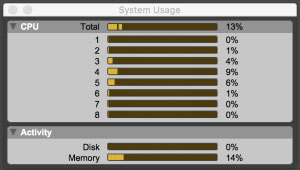 Core-specfic CPU Usage Meters In Pro Tools