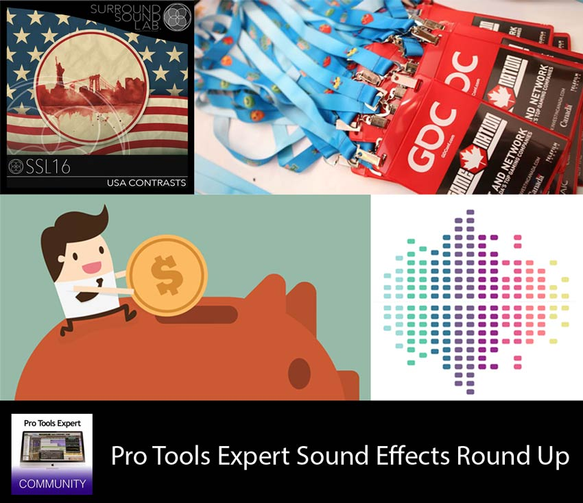 Sunday Sound Effects Round Up - A Sound Effect, Surround Sound Lab, Soundlister