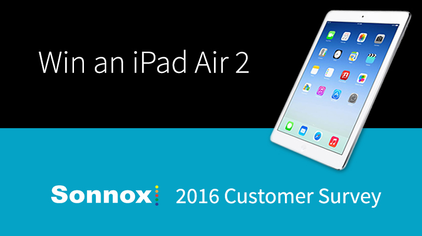 Win An iPad 2 Courtesy Of Sonnox