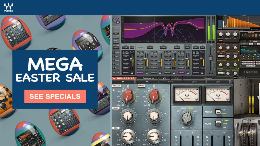 Waves Easter Sale - Some Great Plug-ins On Offer Until March 31st
