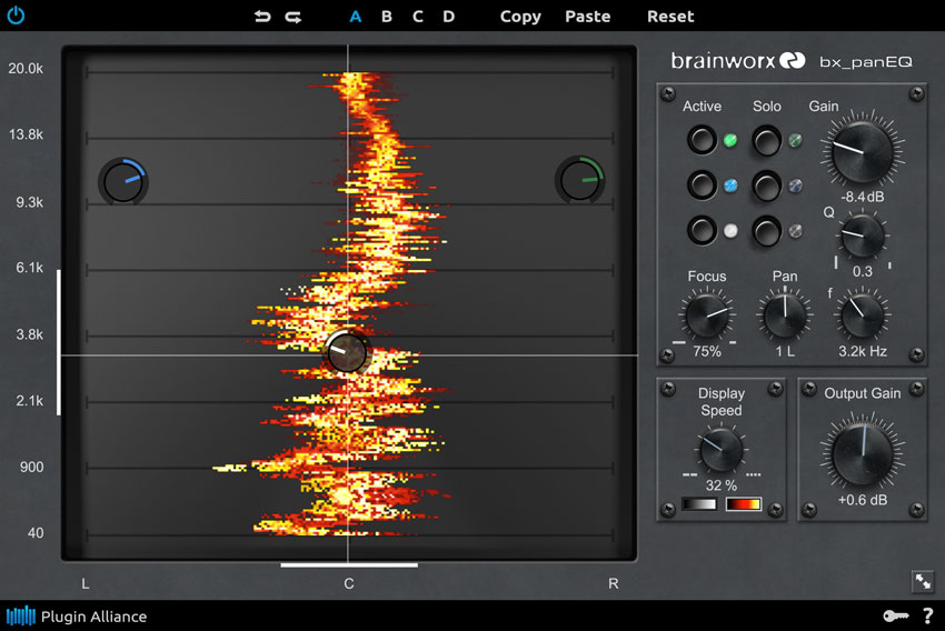 Brainworx bx_panEQ Panoramic Equaliser – $299