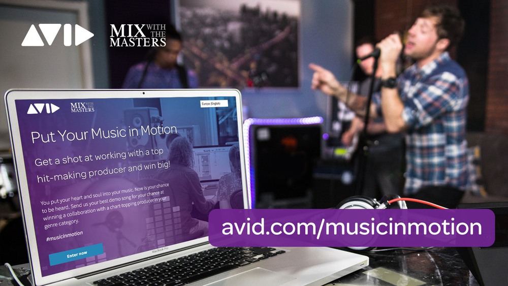 Avid And Mix With The Masters Music In Motion Competition