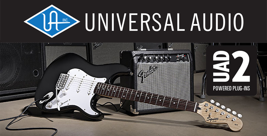 Universal Audio And Fender Musical Instruments Announce Development Partnership