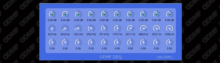 DDMF Free IIEQ Plug-in