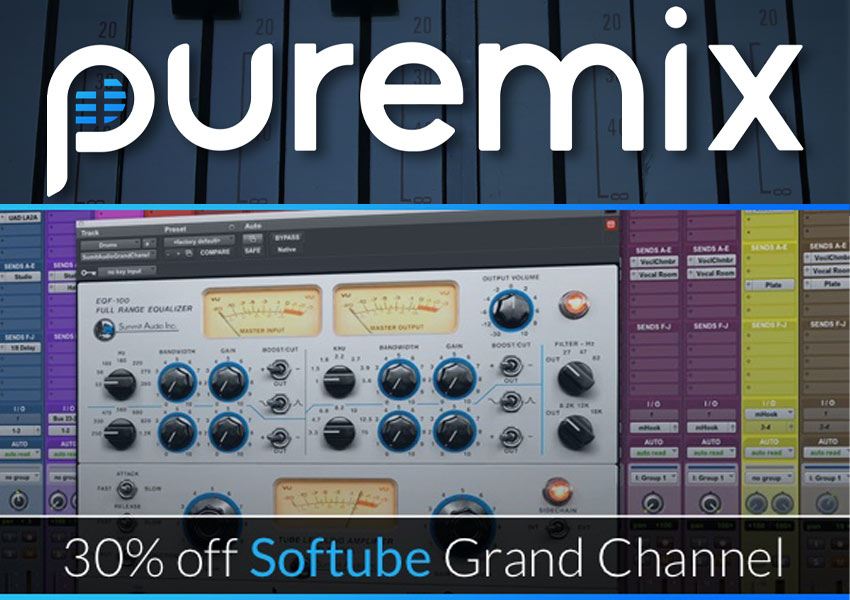 Video - How To Get Punchy Drums With Softube Grand Channel