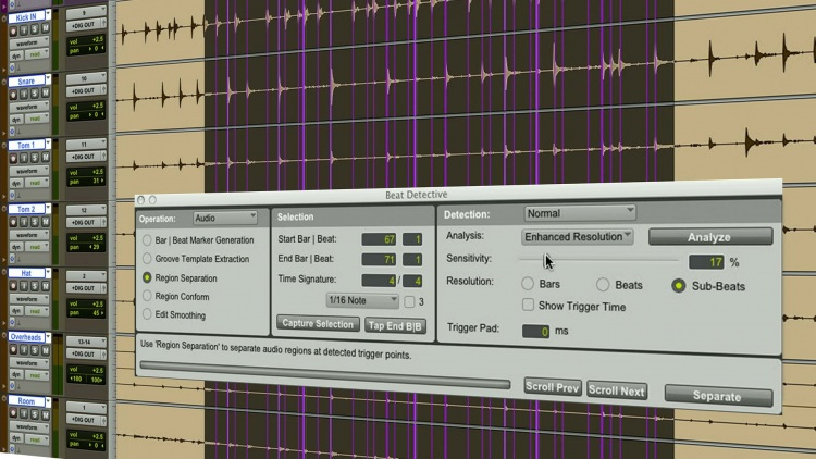 Video - How To Use Beat Detective In Pro Tools