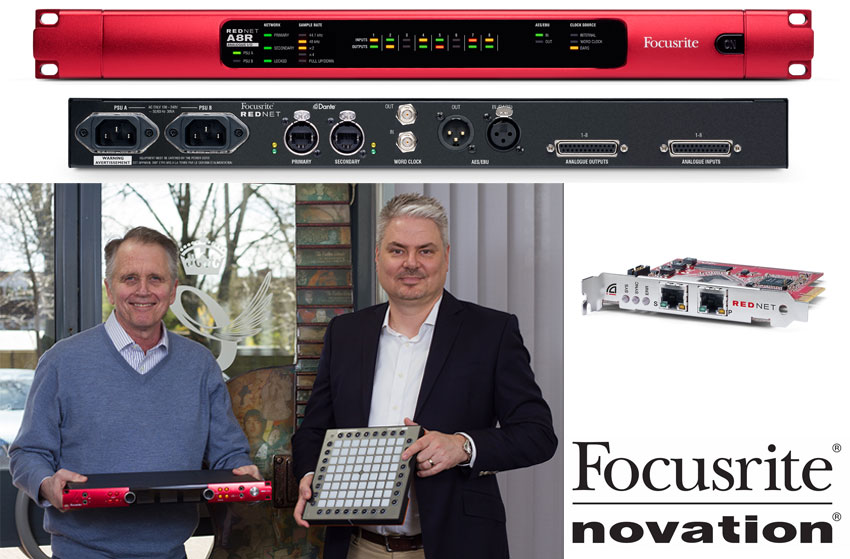 Focusrite New Products And Announcements at NAB 2016