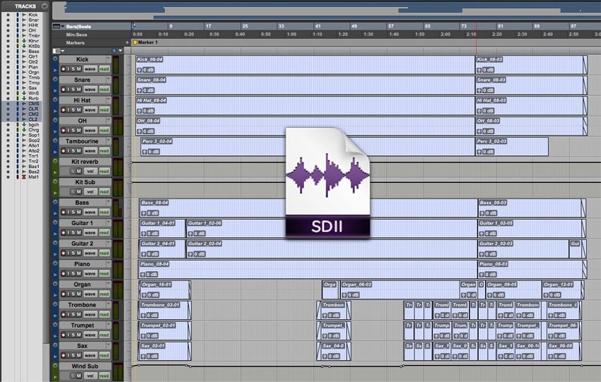 How Do I Handle Old Pro Tools Sessions With Sound Designer 2 Files