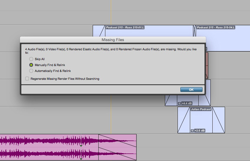 How To Replace Watermarked Music Files with Fully Quality Audio In Pro Tools