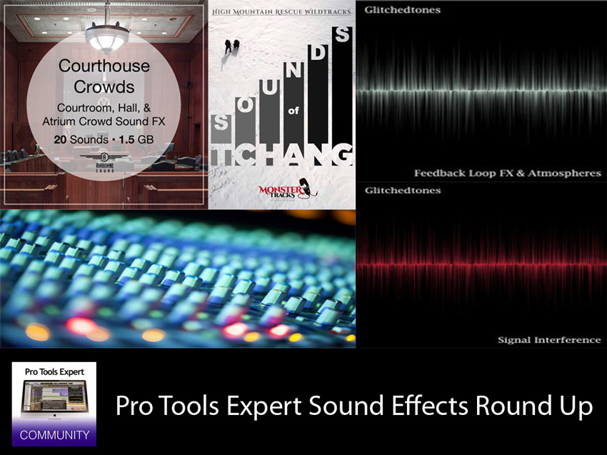 Sunday Sound Effects Round Up - Airborne Sound, Monstertracks, A Sound Effect