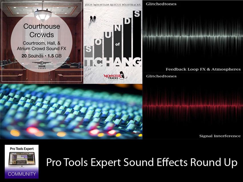 Sunday Sound Effects Round Up - Airborne Sound, Monstertracks, A Sound Effect