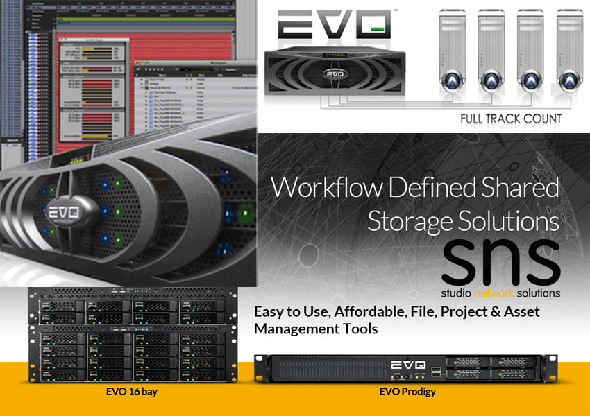 HHB Scrub Install Pro Tools Friendly Network Attached Storage From SNS Into Wise Buddah Studios