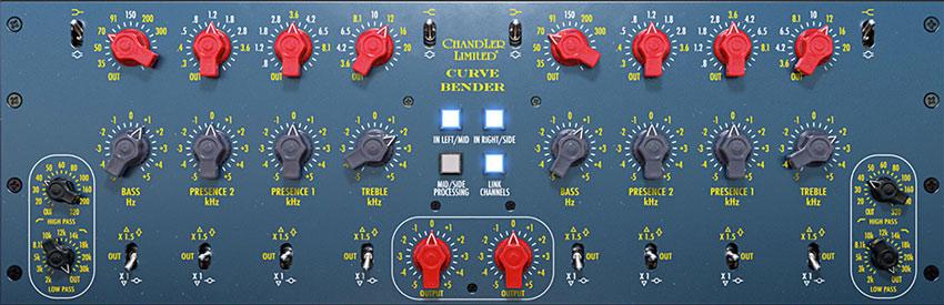 UAD Chandler Curve Bender Mastering EQ Plug-in