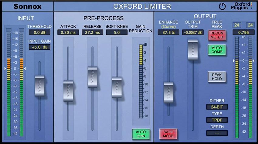 UAD Sonnox Oxford Limiter v2 Plug-in