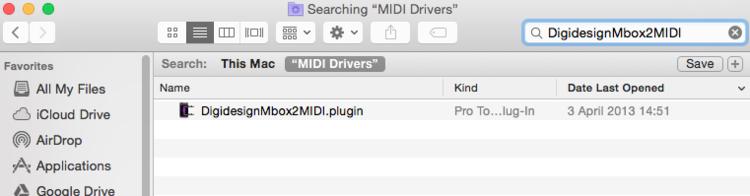 digidesign mbox 2 drivers mac