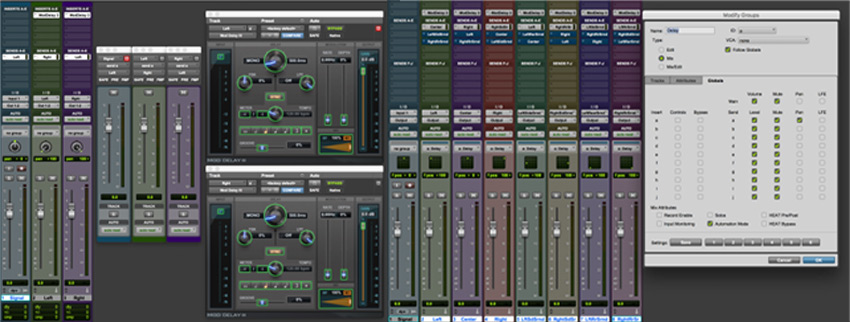 Tips For Post Production Mixing Dolby Atmos In Pro Tools - Ping Pong Delay
