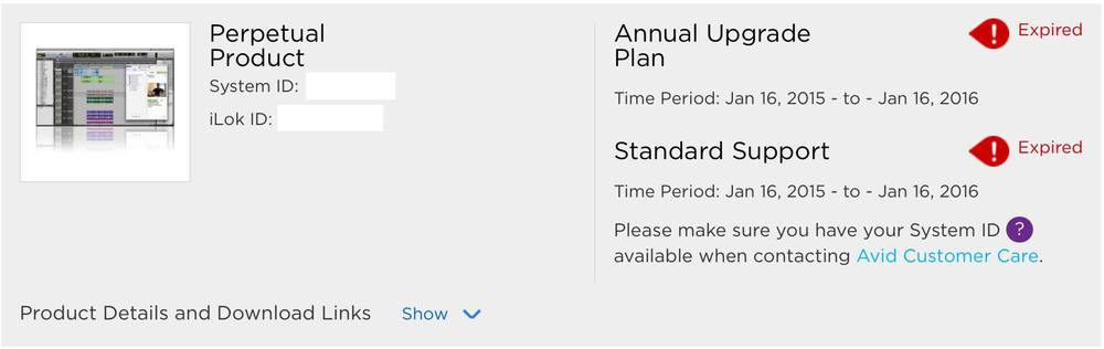 Pro Tools Upgrade Plan Renewal Grace Period Extended