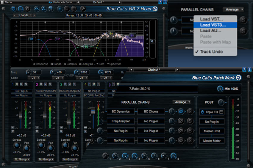 Blue Cat Audio MB7 & Patchwork Hosting Plugins For Pro Tools Now Support VST3