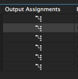 Adobe Premiere Pro Sequence Output Assignment Settings