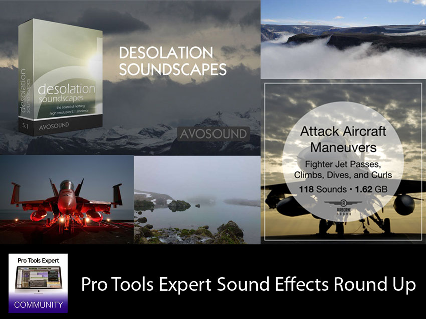 Sunday Sound Effects Round Up - Avosound, Airborne Sound