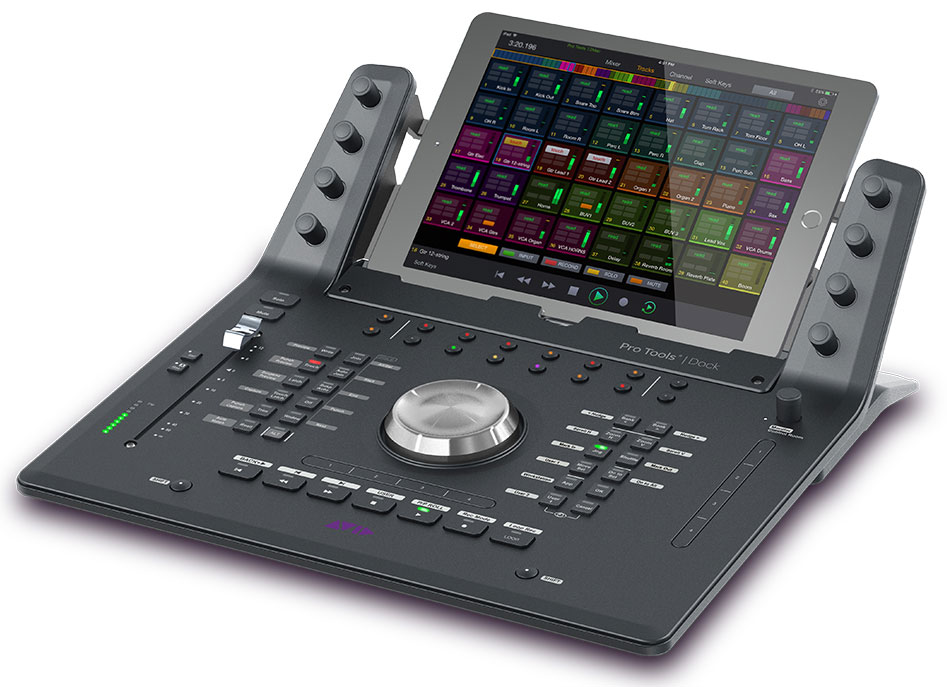 Avid Announce Pro Tools Dock For iPad Is Now Shipping