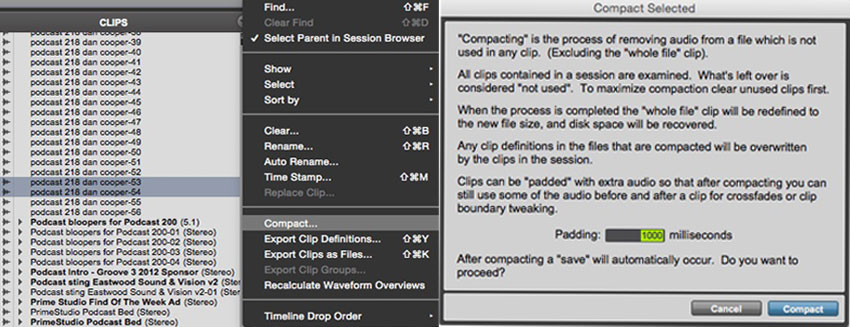 How To Consolidate Pro Tools Sessions Ready For Archiving