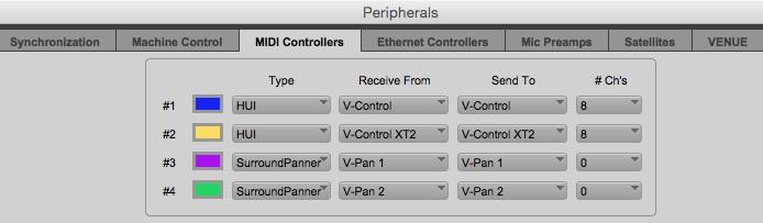 V-Panner Pro Tools Setup