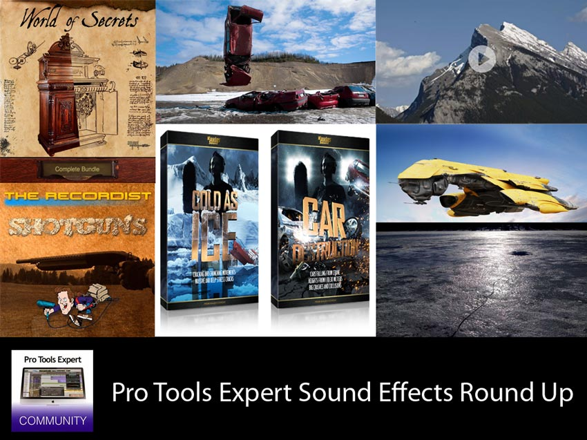 Sunday Sound Effects Round Up - Soundsnap, A Sound Effect, Kuulas Sound, The Recordist, Red Libraries