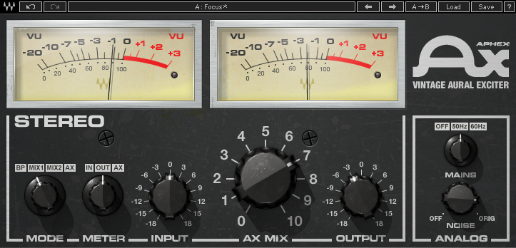 Waves Aphex Aural Exciter Plugin