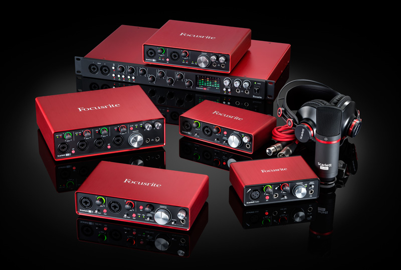 Focusrite Scarlett Second Gereration Interfaces