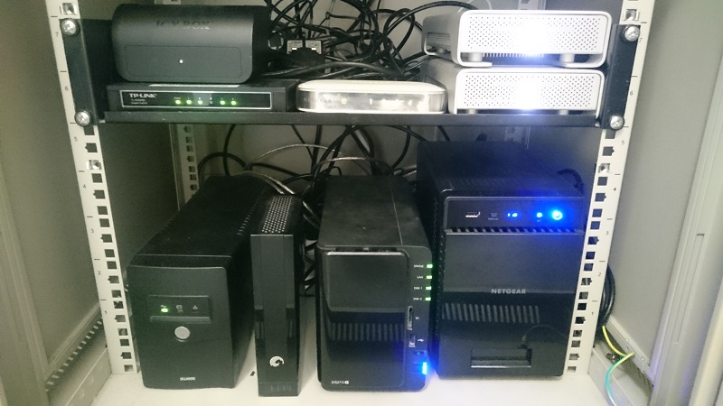 8dB Sound Data Backup Rig