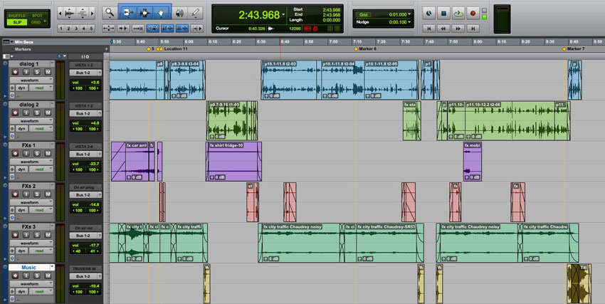 How Do You Create Global Libraries & Effects Groups In Pro Tools Post Production Workflows